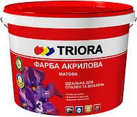Краска интерьерная акриловая матовая TRIORA