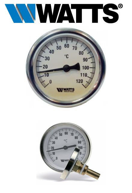 Биметаллический термометр WATTS T63/50