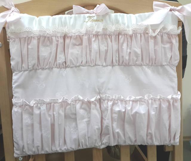 Именные постельные комплекты в кроватку 9