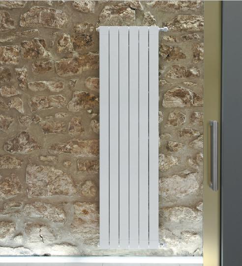 Вертикальные дизайнерские радиаторы Global Oskar, H-1400 мм