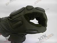 Тактические перчатки Tactical олива утепленные, фото 1