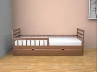 Кровать детская Ультра Люкс 80х190/200 с ящиками