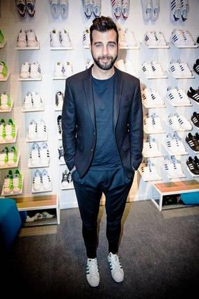 Кроссовки мужские в стиле Adidas Superstar White-Black, фото 2