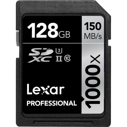 Карта памяти Lexar 128GB Extreme Pro UHS-I SDXC 10 класс
