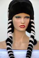 Женская норковая шапка Мальвина, фото 1