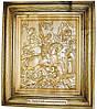 Икона деревянная резная именная Георгия Победоносца
