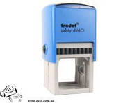 Оснастка Тродат 4940 для кругл печати 40 мм пласт син