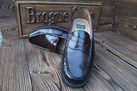 Туфли  мужские фирменные бордовые Nunn Bush код 229  27 см, 42 размер