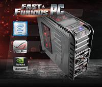 Графическая станция FF Strike-X Xeon 697v3 28 ядер 2.6GHz/ 64GB/8GB QUADRO M5000/ 120 SSD/ 1TB/ 850W