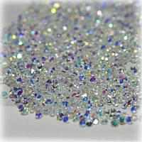 Хрустальная крошка ss3 (1,3-1,5 mm) 1440шт Crystal AB
