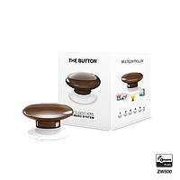Кнопка управления Z-Wave FIBARO The Button brown (коричневая) -  FIBEFGPB-101-7