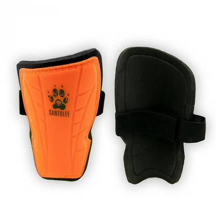 Щитки футбольные детские оранжевые, фото 2
