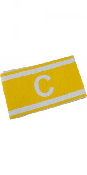 Капитанская повязка желтая на липучке
