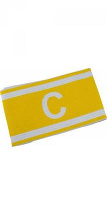 Капитанская повязка желтая на липучке, фото 2