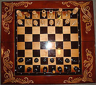 Шахматы и шашки 2 в 1