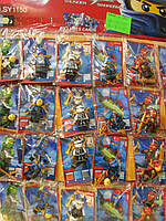 Герои Ninja на листе