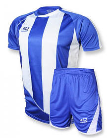 Футбольная форма Europaw 001 сине-белая [XS M]