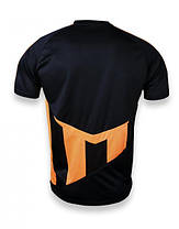 Футбольная форма Europaw 001 черно-оранжевая [S], фото 3