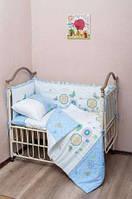 Комплект белья для мальчиков и девочек в детскую кроватку, супер цена