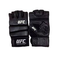 Перчатки для ММА UFC Practice черные 14 Oz