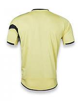Футбольная форма Europaw 003 желто-черная [S, M], фото 2