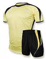 Футбольная форма Europaw 003 желто-черная [M]