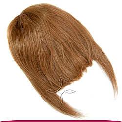 Накладна Чілка з Натурального Волосся, Русявий №08