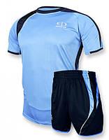 Футбольная форма Europaw 003 голубо-синяя [XS], фото 1