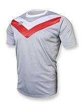 Футбольная форма Europaw 004 серо-красная XS/L/XL, фото 2