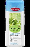 Шампунь для жирных волос alverde Anti-Fett Brennnessel & Zitronenmelisse