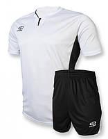 Футбольная форма Europaw 005 бело-черная [S]
