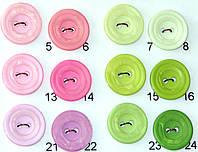 Пуговицы прошивные диаметр 18мм