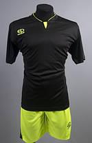 Футбольная форма Europaw 005 черно-салатовая [L], фото 3