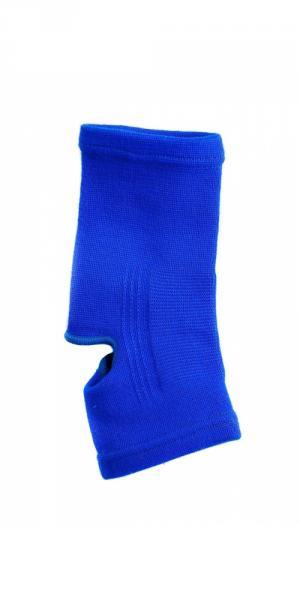 Голеностоп тканевый синий (пара)