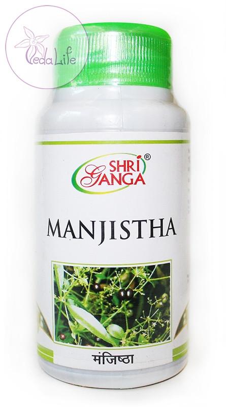 Манжишта, Manjistha, 100 табл. - очищение лимфы и крови