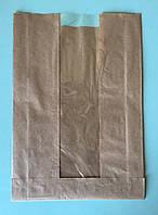 Бумажные пакеты с окном 180*50*275