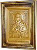 Икона деревянная резная Божией Матери Семистрельная