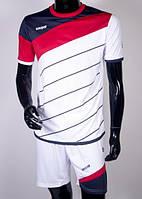 Футбольная форма Europaw 008 бело-красная XS