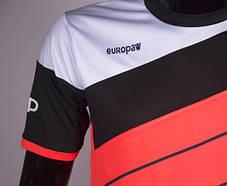 Футбольная форма Europaw 008 кораллово-черный , фото 3