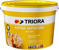 Краска акриловая фасадная TM «TRIORA»