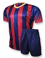 Футбольная форма Europaw club сине-красная [L]