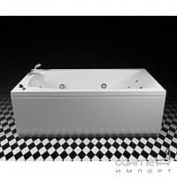 Гидромассажные ванны Rialto Прямоугольная аэромассажная ванна Rialto Tivoli Aero со смесителем