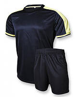 Футбольная форма Europaw club черно-желтая