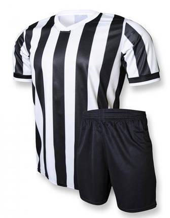Футбольная форма Europaw club черно-белая L XL, фото 2