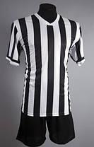 Футбольная форма Europaw club черно-белая L XL, фото 3