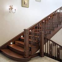 Лестница деревянная №5