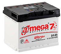 Аккумулятор автомобильный A-mega 6СТ-64 АзЕ Ultra+