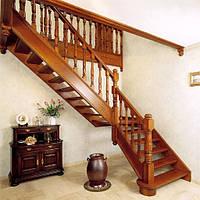 Лестница деревянная №8