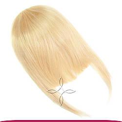 Накладна Чілка з Натурального Волосся, Блонд №613