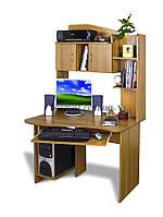 Компьютерный стол с тумбочками, Ск-Сигма, 1м*80 см, орех лесной